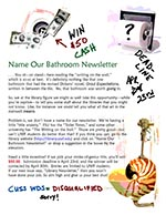 Name Our Newsletter Issue